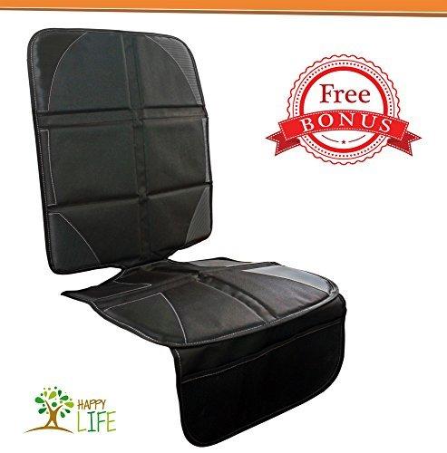 Big Save! Ultimate Car Seat Mat | BONUS Decal Sticker and 10% Coupon Code Set Deal | Offers protecti...