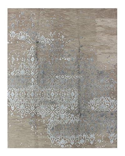 Bashian Sino Modern Rug, Beige, 7' 9 x 9' 9
