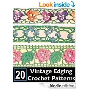 Crochet Patterns On Amazon : 20 EDGING & INSERTION PATTERNS - CROCHET / TATTING - VINTAGE 1949 ...