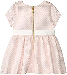 kate spade york Baby Girls Babies' Bow Dress Set, Satin Slipper, 6 Months from Global Brands Group - Quidsi