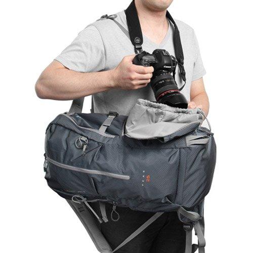 HAKUBA カメラリュック GWアドバンス ピーク 25L 三脚取付可 ダークグレー SGWA-P25DGY