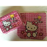 Super Cute Combo Pack Hello Kitty Embroidered Applique Tote Bag Dimension: 14.5 X 13.5 X 5 And Lunch Box Bag Dimension... - B00L8HCUPM
