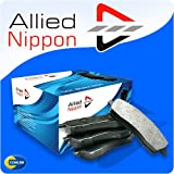 Front Allied Nippon Brake Pads Nissan Micra 1.0L 2002 to 2005 - ADB0984