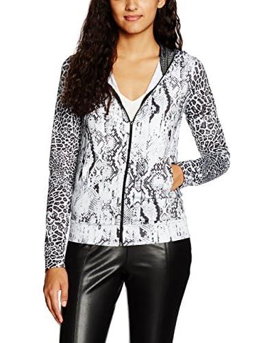 Guess Giacca Sweatshirt W/Hood [Bianco/Nero]