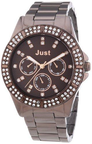 Just Watches 48-S9059-BR - Orologio da polso donna, acciaio inox, colore: marrone