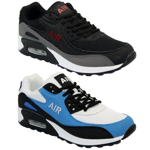 BARGAINS-GALORE® MENS GENTS RUNNING TRAINERS CASUAL LACE RUNNING GYM WALKING SPORTS BOYS SHOES