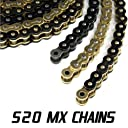JPR MX Series Dirt Bike Drive Chains Offroad 520 MX 116 Link