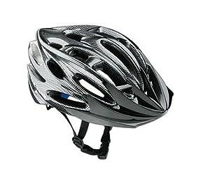 RED-ROCK Erwachsenen Fahrrad Helm INMOLD Technologie, black carbon, S/M, RR9130 by RED-ROCK