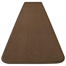 Skid-resistant Carpet Runner - Toffee Brown - 4 Ft. X 27 In. - Many Other Sizes to Choose From