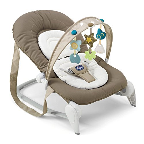 Chicco 79345 Hoopla' Bouncer Sdraietta, Beige (Natural)