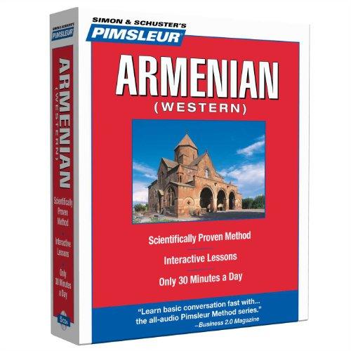Pimsleur Armenian Western (Simon & Schuster's Pimsleur)