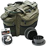 Large Fishing Tackle Bag + Boilie Bai...
