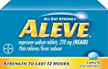 Aleve Pain Reliever/Fever Reducer, 220 mg, Caplets 200 caplets