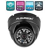 FLOUREON Home Security Surveillance Cameras 1200TVL 1/3