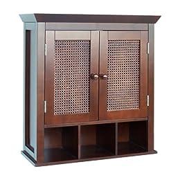 Creative Target Furniture Bathroom Furniture Fieldcrest Wall Cabinet  Espresso