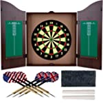 TG Dartboard Cabinet Set with Realist...