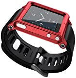 LunaTik Multi-Touch Watch Kit – iPod nano 6g – Red Reviews