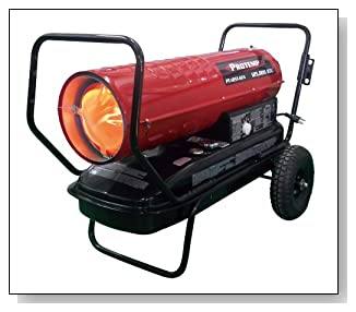 ProTemp 125,000 BTU Kerosene Forced Air Heater with Thermostat