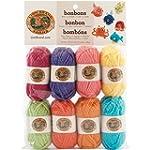 Lion Brand Yarn 601-610 Bonbons Yarn,...