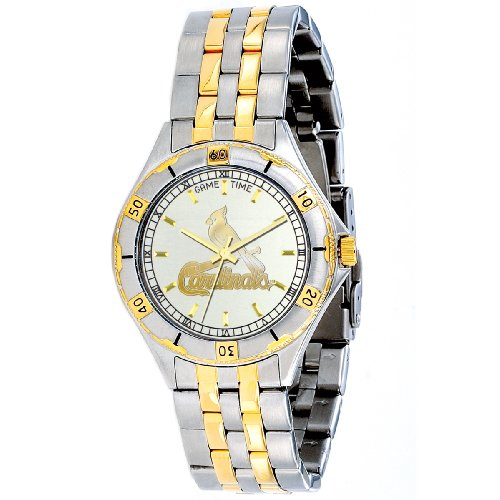 Game Time Mlb Men's Mt-stl General Manager Series St. Louis Cardinals Watch