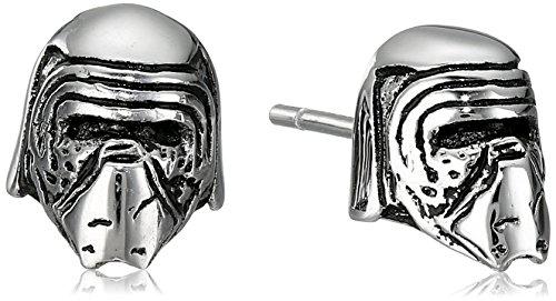 Star Wars Jewelry Unisex Episode 7 Kylo Ren 3D Stainless Steel Stud Earrings