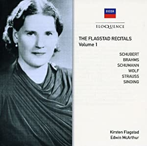 Flagstad Recitals - Volume 1