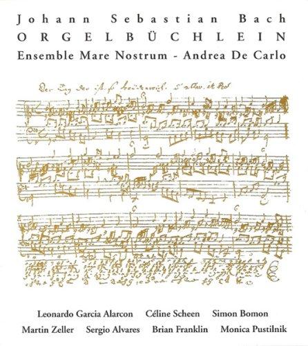 bach - Bach : œuvres pour orgue 51sJy7CCz2L