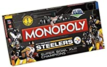 Steelers Super Bowl Champions Monopoly