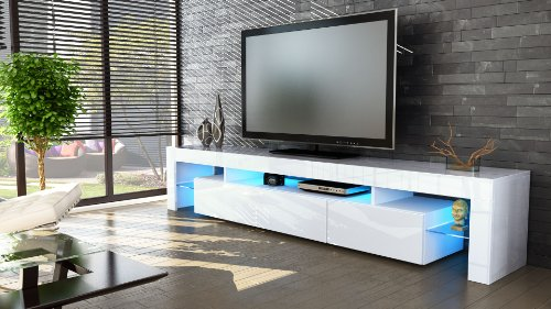 Top of line  TV Stand Unit Lima V2 in  /  High Gloss