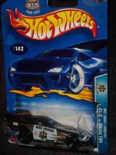 Roll Patrol #2 Firebird Funny Card #2003-142 Collectible Collector Car Mattel Hot Wheels