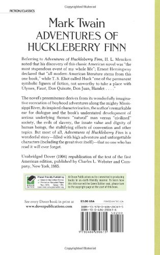 the adventures of huckleberry finn symbolism