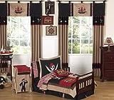 Treasure Cove Pirate Toddler Boy Bedding 5 Piece Set