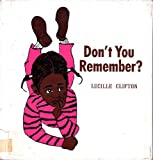 Don't You Remember: 2 (0525288406) by Clifton, Lucille