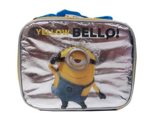 Despicable Me Minion Lunch Box - NEW Licensed - Yellow Bellow!