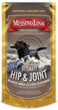 Missing Link Plus with Glucosamine for Dogs, Hip & Joint - 5 lb Pouch