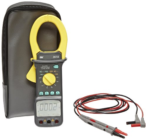 B&K Precision 367A Ac/Dc Multifunction True Rms Current Clamp Meter, 400/2000 A Ac/Dc Current Range