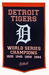 MLB Detroit Tigers Dynasty Banner by Winning Streak