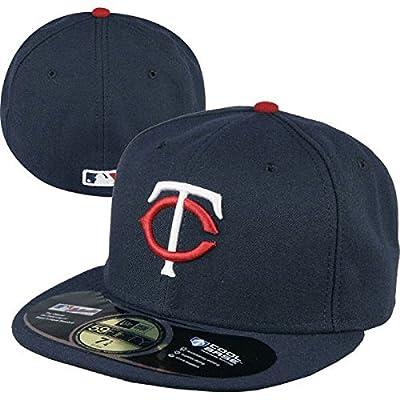 New Era 59FIFTY Minnesota Twins Team Alternate Baseball Hat Navy