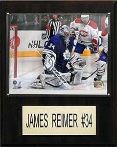 NHL James Reimer Toronto Maple Leafs Player Plaque
