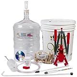 Starter Winemaking Equipment Kit w/ Better Bottle & Double Lever Corke