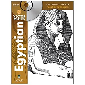 Egyptian Vector Motifs (Dover Electronic Clip Art) Alan Weller and Clip Art