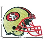 3pcs San Francisco 49ers Helmet Logo Iron on Patches Kid Biker Band Appliques for Jeans Pants Apparel Great Gift for Dad Mom Man Women Free Shipping From Thailand – High Quality Embroidery Cloth & 100% Customer Satisfaction Guarantee