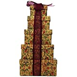 Broadway Basketeers Thinking of You 5-box Gift Tower ~ Broadway Basketeers