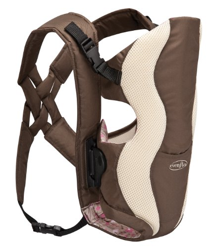 Evenflo Glide Baby Carrier, Floral Brown