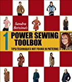Power Sewing Toolbox 1 (Tips & Techniques Not Found In Patterns) (0982322313) by Sandra Betzina