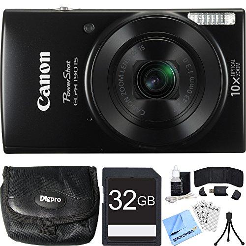 canon-powershot-elph-190-is-black-digital-camera-32gb-card-bundle-includes-camera-32gb-memory-card-r