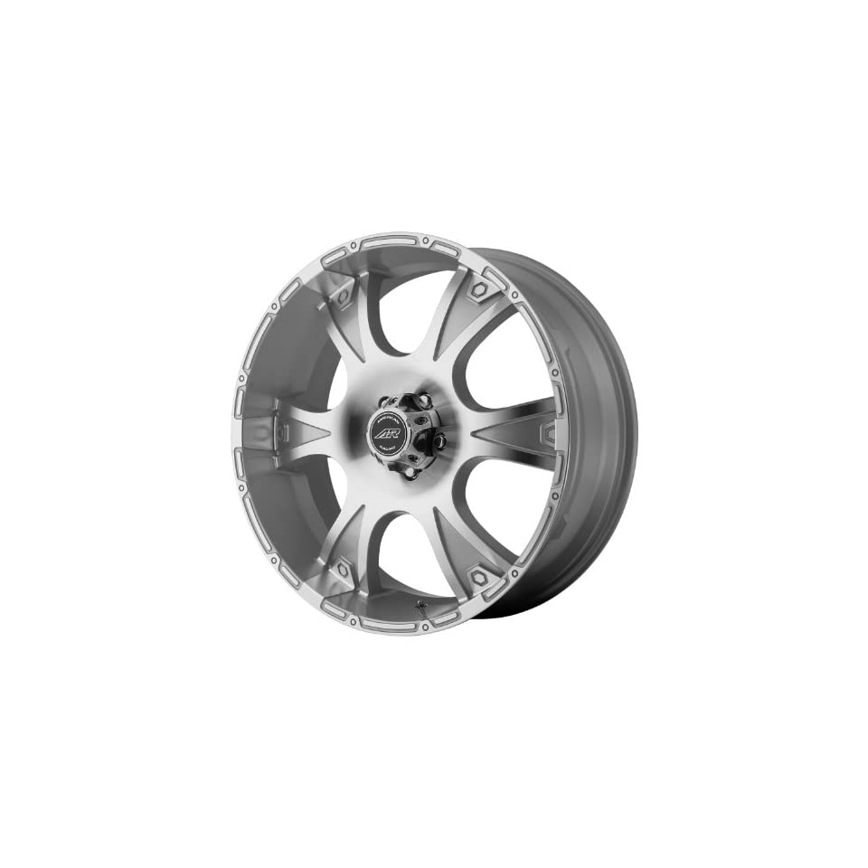American Racing Dagger 16x8 Silver Wheel / Rim 5x5.5 with a 10mm Offset and a 108.00 Hub Bore. Partnumber AR88968055410 Automotive