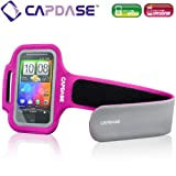 CAPDASE iPhone & iPod touch & スマートフォン対応 スポーツ アームバンド Zonic, フーシャ ABIH4-1204