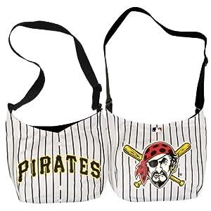 "Pittsburgh Pirates Jersey Tote Bag 15"" x 4"" x 13"""