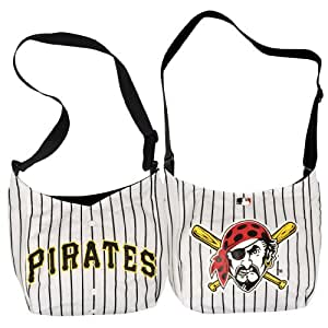 "Pittsburgh Pirates Jersey Tote Bag 15"" x 4"" x 13"""